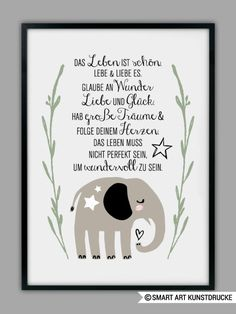 Live Das Leben The life - Live Life The life - # peacefulparentingbooks Peaceful Parenting, Kids And Parenting, Smart Art, Baby Party, True Words, Birthday Quotes, Birthday Gifts, Friendship Quotes, Live Life