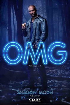 At the start of the show, Shadow, American Gods' protagonist of sorts, gets out of jail after three years, just in time to attend his beloved wife's funeral (she was killed in a car crash days before his release). On his flight home, a chance encounter with a mysterious and charismatic grifter named Mr. Wednesday sets Shadow's life on a new path that's full of danger and, quite possibly, actual magic. American Gods - Neil Gaiman. Premiering April 30th on Starz. #americangods #neilgaiman