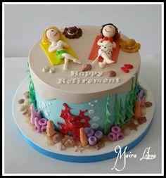 Retirement cake by Maira Liboa