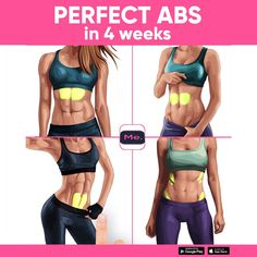 A workout for you to get perfect ABS! Exercises were created to reduce the size of the belly quick and easy! Do it and enjoy the results! , ab workout for women Fitness Workouts, Yoga Fitness, Fitness Motivation, Training Fitness, At Home Workouts, Health Fitness, Workout Abs, Workout Routines, Fitness Bodies