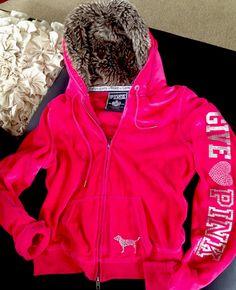 VS Pink Bling Hoodie