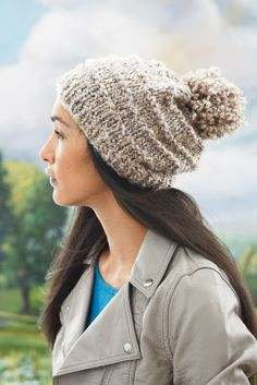 Chapeau Retour aux Sources Loops & Threads Country Loom (Tricot)