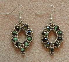 Linda's Crafty Inspirations: Looking for an elusive earring pattern...