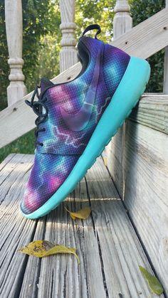 """Nike Roshe Run """"Solar Apocalypse"""" Custom"""