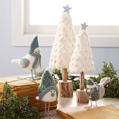 Oh, I like the little Christmas trees! DIY Wrapping Paper Wreath DIY to Try: Holiday Edition NOVEMBER 2013 Hey all! I confess I'm in full Christmas mode this week – I love a. Cone Christmas Trees, Noel Christmas, Winter Christmas, Christmas Projects, Holiday Crafts, Christmas Ornaments, Christmas Scenes, Christmas Lights, Christmas Sweaters
