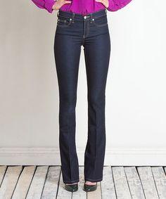 Look what I found on #zulily! Dark Blue Bootcut Jeans #zulilyfinds