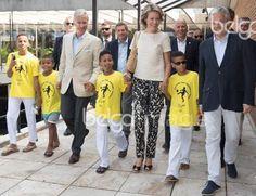 King Philippe - Filip of Belgium, Queen Mathilde of Belgium, BOIC-COIB CEO…