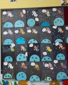 Space Theme Classroom, Space Theme Preschool, Space Activities, Science Activities, Toddler Activities, Preschool Activities, Toddler Crafts, Crafts For Kids, Astronaut Craft