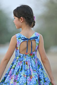 June Dress – Violette Field Threads Frocks For Girls, Little Girl Dresses, Girls Dresses, Summer Dresses, Toddler Dress, Baby Dress, Toddler Girl, Jean Outfits, Girl Outfits