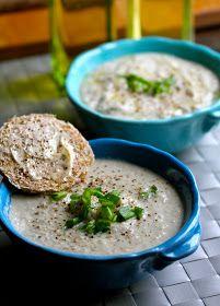 Smith's Vegan Kitchen: Cauliflower & Artichoke Soup