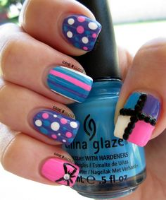 #cute #summernails  facebook @ GAME N GLOSS