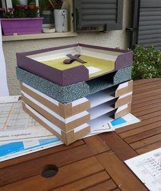 Diy Cardboard Furniture, Cardboard Crafts, File Organization, Organizing, Toy Shelves, Clutter Control, Bookcase Styling, Origami Box, Diy Box