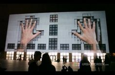 Urbanscreen.com (2012) Projection Mapping. [image online] Available at: http://www.thecoolist.com/when-buildings-come-alive-10-unreal-urban-projection-videos/ [Accessed: 14 June 2012].