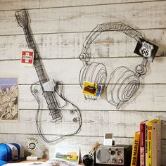 Check out these awesome musical wall decorations! They'll bring harmony to any room.