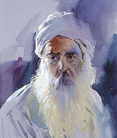 56abda3e milind mulick paintings: October 2008 Watercolor Sketch, Watercolor  Portraits, Watercolor Artists, Watercolor