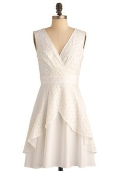 Eyelet Living Dress. I really want this dress!
