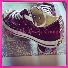 Converse and Wedding Converse   Vans   Nike   Pumps Silver Swarovski  Diamonte   Diamante Hand Made To Order US 5 - 10 UK 8 AU 5 - 10 9e6a575eaa