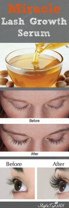 Beauty Tips Coconut oil castor oil = miracle lash growth! - Today we'll show you how to grow eyelashes with this amazing DIY miracle serum. Lashes can take time to grow, but not with this DIY miracle serum. How To Grow Eyelashes, Longer Eyelashes, Fake Eyelashes, Coconut Oil Eyelashes, Natural Eyelashes, False Lashes, Hair Coconut Oil, Coconut Oil Uses For Skin, Beauty Hacks Eyelashes