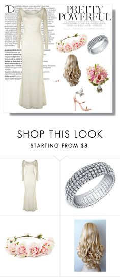 """""""Wedding Style"""" by prettylittletimelord on Polyvore featuring Balmain, Monsoon, Forever 21 and Giuseppe Zanotti"""