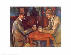 Paul Cézanne - Kartenspieler