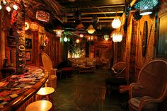 Brad's Tiki Bar by Phinzup, via Flickr