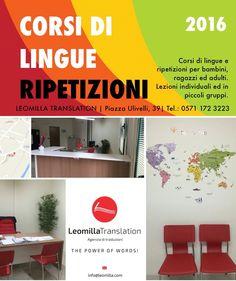 Lezioni private e ripetizioni di lingue a Castelfiorentino