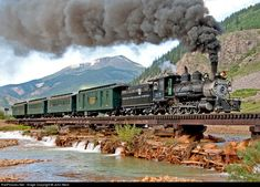 RailPictures.Net Photo: DRGW 315 Denver & Rio Grande Western Railroad Steam 2-8-0 at Silverton, Colorado by John West