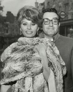 Sophia Loren et Peter Sellers - Londre 1951