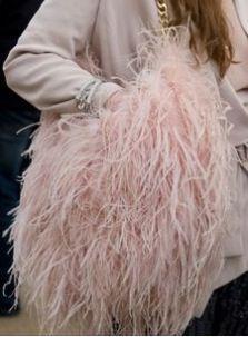 259cd7dd9a3f fake fur bag Pretty In Pink