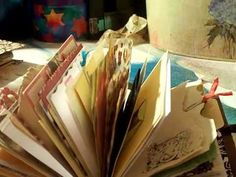 Mini Junk Journal full of goodies flip through - YouTube