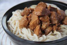 Curry de porc au caramel