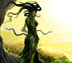 Vraska the Unseen fan art by Aldin ( Planeswalker from the TCG Magic the Gathering)