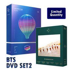 [ K-POP ] [Limited Quantity]BTS DVD SET2 - 2017 wings Live DVD + Memories of 2016 + POSTER