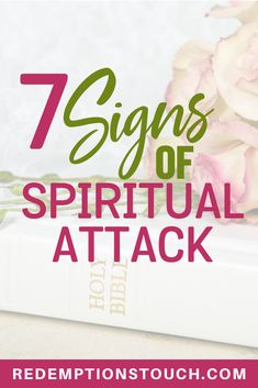 Life is hard and sometimes it feels like everything hits all at one time. How do you know if this is a Spiritual Attack? Here are 7 Signs of Spiritual Attack. #spiritualattack #ChristianLife