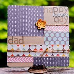 NoelMignon.com Layouts and Projects: Father's Day cards with Summer Wind kit by Kimberly Neddo