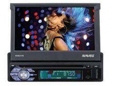 """DVD Automotivo Naveg NVS 3170 Retrátil Tela 7"""" - com Entrada USB SD e Auxiliar Frontal"""