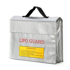 LiPo Battery Portable Explosion-Proof Safety Bag High Temperature Resistance https://www.fpvbunker.com/product/lipo-battery-portable-explosion-proof-safety-bag-high-temperature-resistance/    #fpv