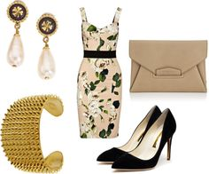 """""""Luck Be A Lady"""" by tarheeled on Polyvore"""
