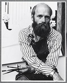 Citation: Robert Bechtle, 1989 / Mimi Jacobs, photographer. [Photographs of artists taken by Mimi Jacobs, photographer], Archives of American Art, Smithsonian Institution.