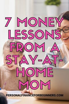 It's a lot of work being a stay-at-home mom! The last thing you need is to be worrying about money. Here are 7 lessons that will help you keep your finances in order. Money Tips, Money Saving Tips, Money Hacks, Finance Blog, Finance Tips, Budgeting Finances, Budgeting Tips, Financial Literacy, Financial Planning