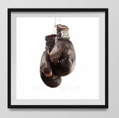 Vintage Boxing Gloves on White Background Fine Art Photography Print, Vintage Sports Nursery Art, Sports Decor, Man Cave art, Sport Prints, Boys Nursery decor, Kids Room Wall Art,. An unframed fine art photo print. All my photos are printed with love on premium finish Kodak Endura Lustre photo paper that won't curl or yellow over time. These are real photographs, not inkjet prints. It will be shipped safely to you in rigid and moisture resistant packaging. SIZES available (Above choose...