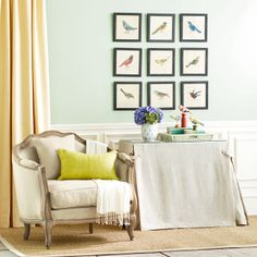 Wisteria - Furniture - Shop by Category - Accent Tables & Pedestals - All-Purpose Shelf Table and Table Cloth - $249.00