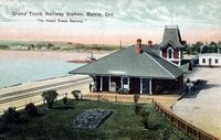 Grand Trunk Railway Station, Barrie