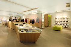 Richard James flagship store by Andy Martin Architects, London » Retail Design Blog