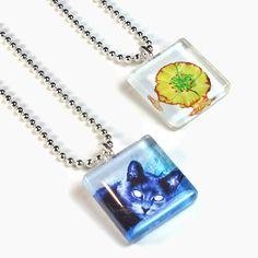 DIY glass tile pendants tutorial Supplies: http://www.ecrafty.com/c-6-photo-jewelry.aspx