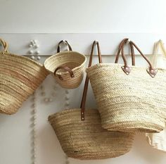 Love baskets #markets #frenchmarketbaskets #straw