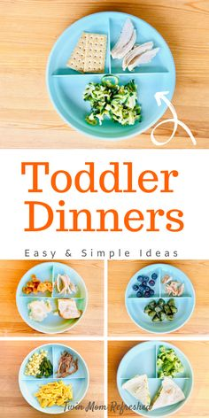 Easy dinner ideas for toddlers! These easy kid meals are low prep and nutritious. Toddler food ideas that offer a variety of foods and will help with meal planning and meal ideas for the week! meals for toddlers Easy Dinners For Toddlers Healthy Toddler Meals, Toddler Lunches, Easy Meals For Kids, Easy Dinners, Toddler Dinners, Dinner Ideas For Toddlers, Toddler Dinner Recipes, Meals For Babies, Meal Plan For Toddlers