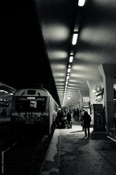 Just in time… Train station, Thessaloniki, Greece 2013