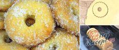 Recept Fantastická Mráziková kolečka Toblerone, Doughnut, Nutella, Donuts, Cake Recipes, Treats, Sweet, Food, Supper Club