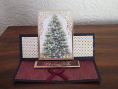 Kanban Christmas easel card.